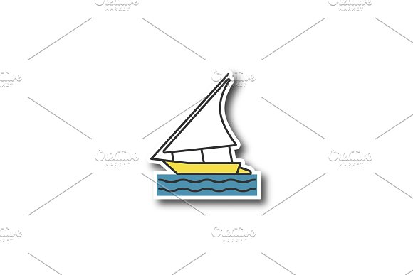 Sailing Boat Patch
