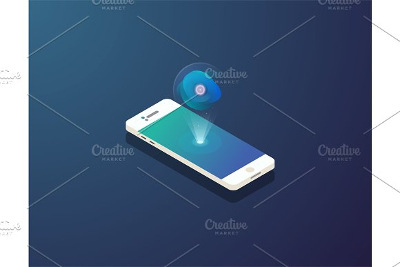 Mobile Isometric Phone