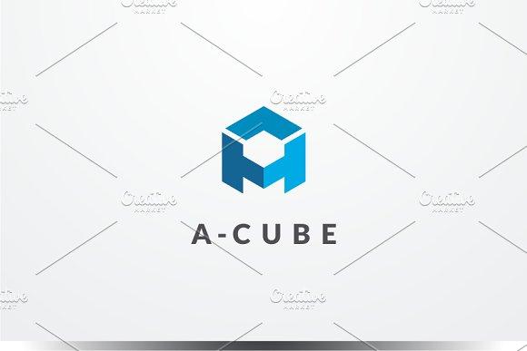 A Cube Logo