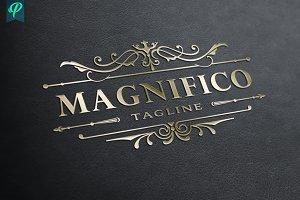 Magnifico - Luxury Vintage Logo