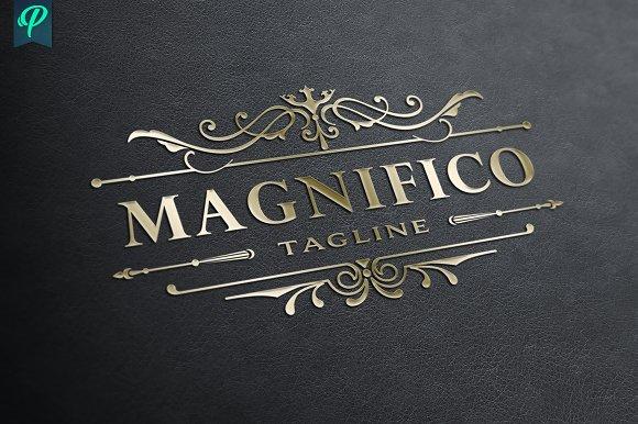 Magnifico Luxury Vintage Logo
