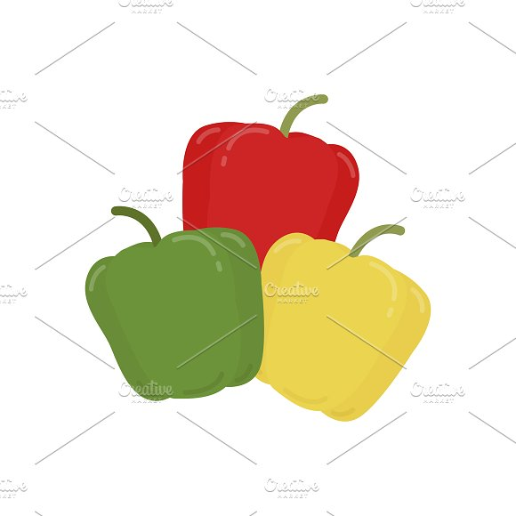 Peppers Illustration