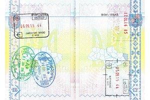 Stamps of Croatia, Emirates and Hungary