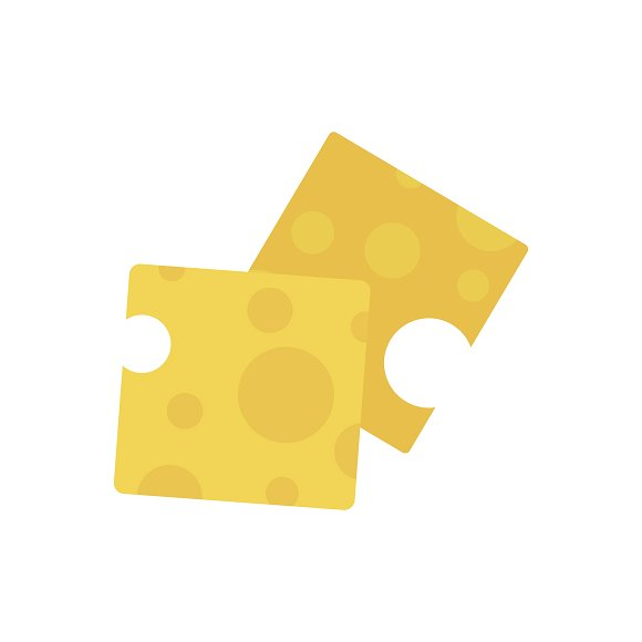 Cheese Graphic Illustration