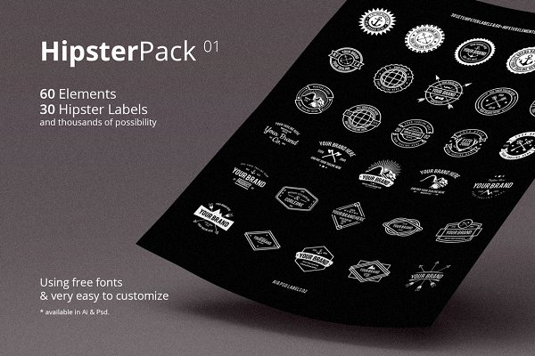 Hipster Pack 01