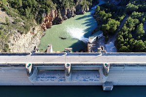 Water reservoir aerial
