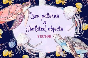 Sea patterns & Isolated objects