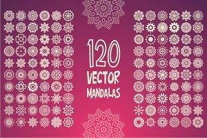 120 Mandalas