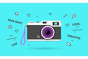 Icon of photo camera