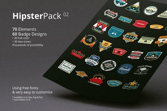 Hipster Pack 02