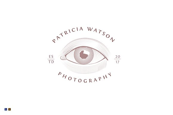 Photographer Artist Logo