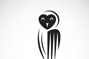 Vector of an owl design. Bird.