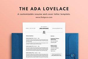 The Ada Lovelace Resume Set