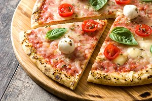 Italian pizza slice