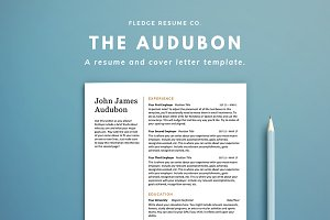 The Audubon Resume Set