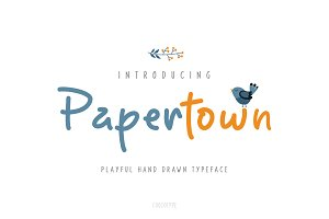 Papertown Font