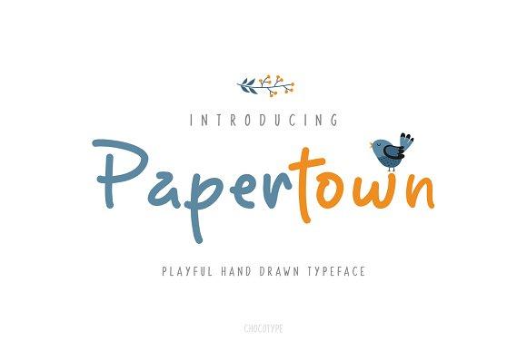 Papertown Font