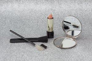 makeup tools.