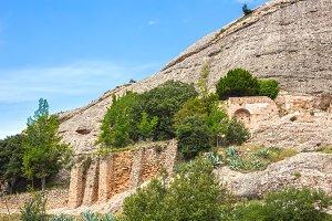 Ruins in Montserrat, Spain