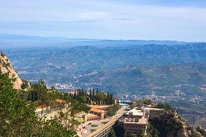Santa Maria Square. Montserrat