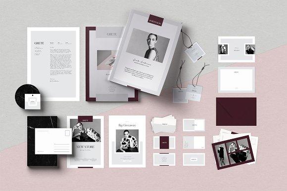Grete Brand Identity Pack