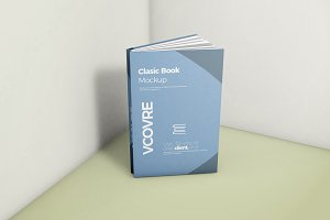 Book Hard Cover Mockup 6