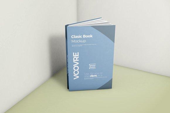 Book Hard Cover Mockup 6