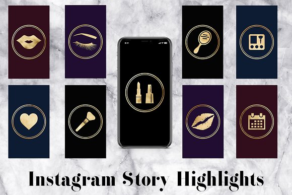 80 Insta Story Covers