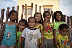 Happy Kids in Cambodia