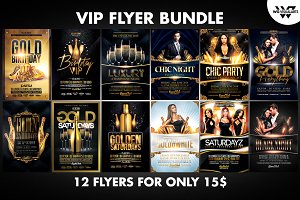 VIP Flyer Bundle