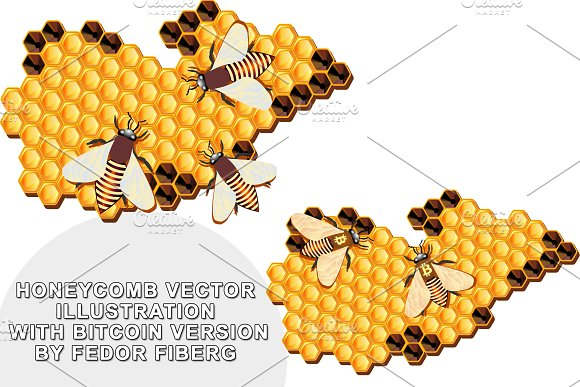 Honeycomb Vector Illustration