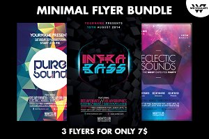 MINIMAL Flyer Bundle
