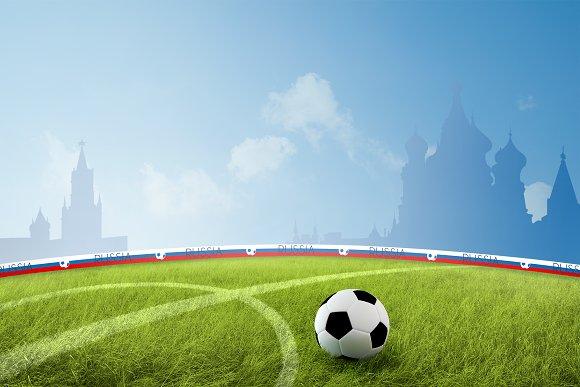 Russian Soccer Field