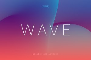 Wave | Smooth Backgrounds | Vol. 02