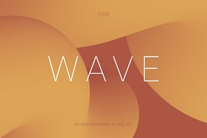 Wave | Smooth Backgrounds | Vol. 03