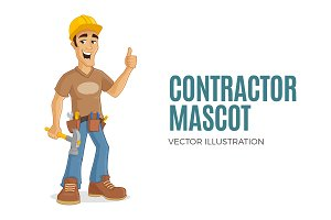 Contractor Mascot