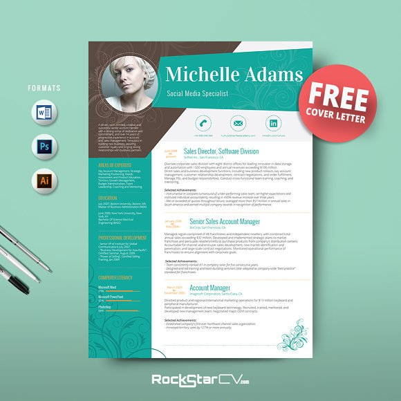 Resume template free cover letter resume templates for Free resume layout templates