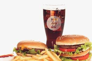 Drink Glass Mock-up #6