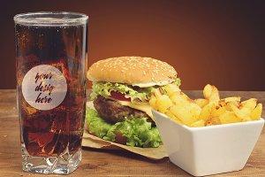 Drink Glass Mock-up #3