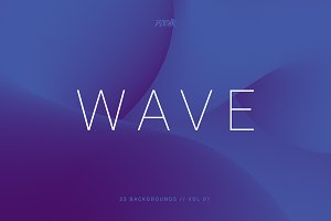 Wave | Smooth Backgrounds | Vol. 01