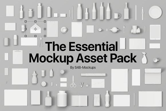 Massive Mockup Bundle Over 90