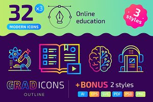 32+ Online education : : GRADICONS