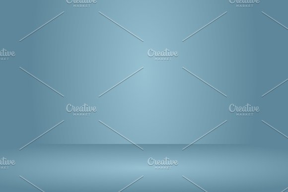 Empty Navy Blue Studio Room Background Template Mock Up For Display Of Product Business Backdrop