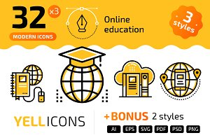 32+ Online education : : YELLICONS