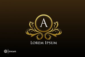 Luxury Logo - A Letter
