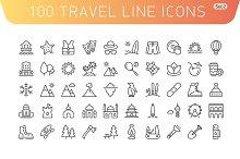 Travel Line Icons. Set 2