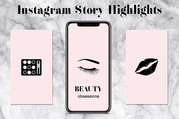 Blush Insta Story Highlights Icons