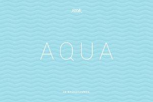 Aqua | Soft Abstract Wavy Bgs