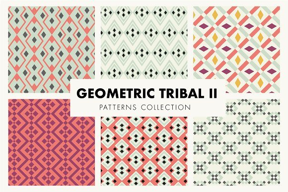 Geometric Tribal II Patterns