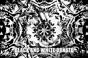 Black and White Ornate
